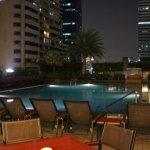 Der Pool am Abend