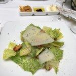Wonderful small Caesar salad.