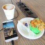 Fuel up and recharge at the WiFi Lounge