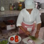 Moroccan cookery lesson
