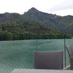terrazza vista lago