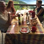 Fab cheese plate, gorgeous waitstaff and scenery, professional and fractious hosts, wonderful ch