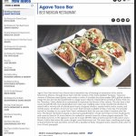 Agave Taco Bar: Voted {Best Mexican Restaurant} in South Florida by New Times Broward-Palm Beach