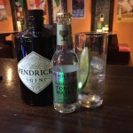 Hendricks Gin with a refreshing Elderflower Tonic Water