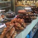 Great selection of sandwiches, cakes and pastries. Excellent service. Best coffee shop around by
