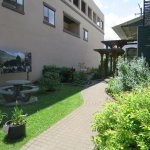 Heritage Garden—a pleasant place to relax on a summer's day