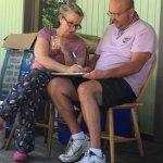 Laura & Tony, plotting and planning