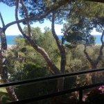 Vistas desde la terraza del comedor