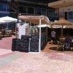 View of front of Bar El Chiringuito.