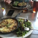 The Sheperd's Pie, it was really good! Only complaint is that it seemed to be hamburger meat ins
