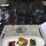 Wine and food pairing at Kendall Jackson...excellent!