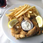 Deep-Fried Soft-Shelled Crab with French Fries