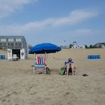 Here's the beach...less than 100 yards from Beach House Dewey!