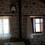 Room photos and the magnificent view to Diros