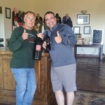 Martin (Owner & I) - Great Hospitality!
