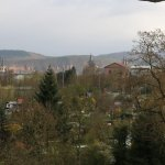 Aussicht auf Trier vom Hoteleingang