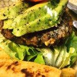 Our famous Veggie Burger