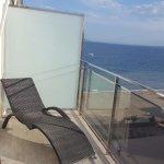 Terraza de suite, vistas al mar
