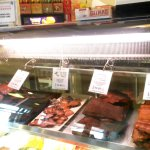 Here are some of the meats they smoke.
