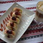 Ukrainian sushi dessert