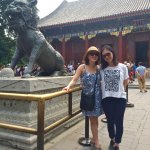 Annie Li and I at the Summer Palace