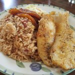 Grouper lunch