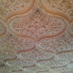 Classic Ornate Library Ceiling Plaster Work