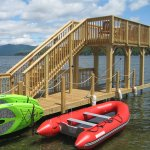 New two level dock