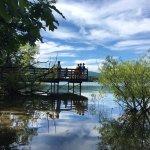 Very nice lake and ride on kayak