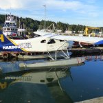 Fascinated by the floatplanes at the harbour.
