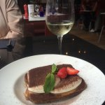 The tiramisu at Milano's