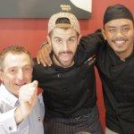 Left to Right, Dr Daniele Gambero, Chef Diego Reali, Chef Rizal