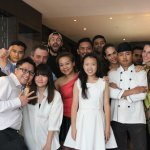 We asked the chefs and staffs out for a group picture together!