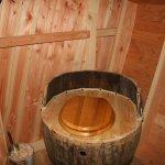 cabane aux fées toilette sèche