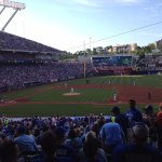 The RV park was within 25 minutes drive of Kaufman Stadium for a Royals baseball game.