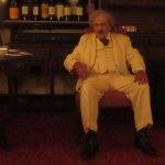 Gavin Wilson's wonderful portrayal of Mark Twain.