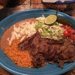 A thin cut steak at Riviera Maya