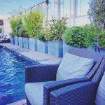 Bar, bord piscine