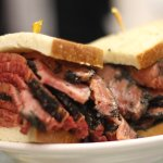 Katz's legendary pastrami - made fresh and cut to order