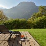 Terrasse lädt zum Entspannen ein