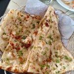 Chilli garlic naan