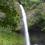 La Fortuna Waterfall as viewed from the base