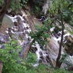 Beautiful waterfall. There is one up river too that you can not see in this pic.