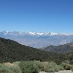 view of east side of Sierra Nevada from the trail to the old Grandview Mine site