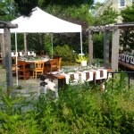 Sunny days on our Pergola Patio