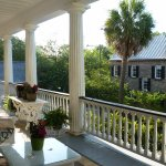 Upper level, front porch,