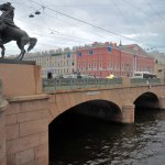 Anichkov Bridge, San Petersburgo