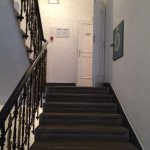Stairwell to rooms