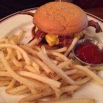 Hickory bbq burger