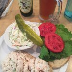 Dill Chicken Salad and Key Lime mmmm!